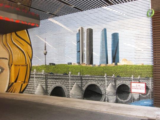 Hotel Novotel Center. Graffiti Madrid