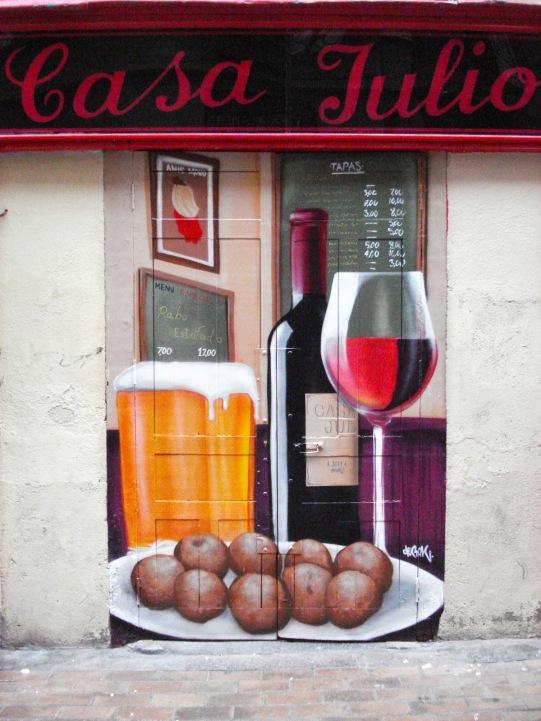 Casa Julio. Graffiti Madrid