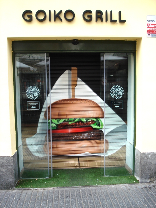 Cierre Goiko Grill. Graffitero Madrid
