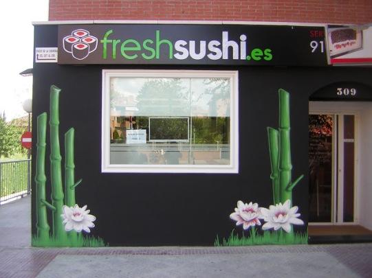 Freshsushi graffiti Madrid