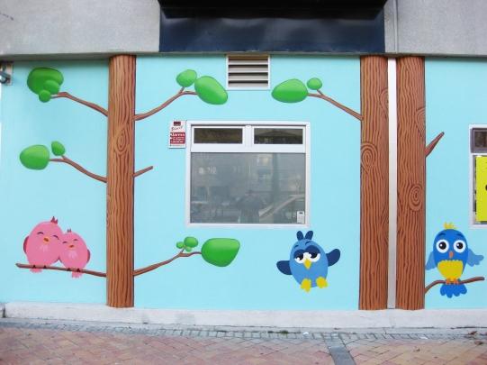 Escuela infantil Cucos Graffitero Madrid