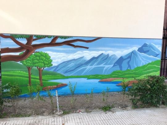 Paisaje graffiti