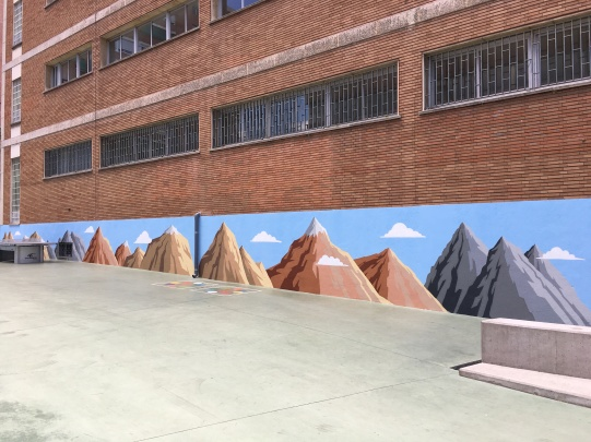 Colegio graffiti