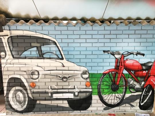 Coche graffiti