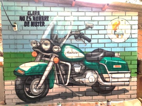 Moto graffiti